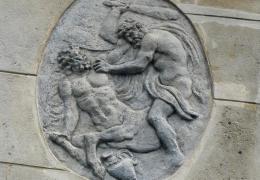 Le combat des forces antagonistes