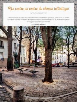 """""""Alliance Magique Le Mag"""", article, août 2020 (Lecture symbolique de la Place Emile Goudeau et sa fontaine Wallace)"""